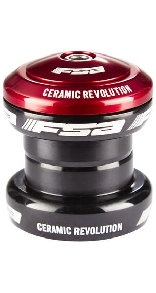 FSA Extreme Pro ohjainlaakeri, ahead ceramic, EC34/28.6 I EC34/30 , punainen/musta